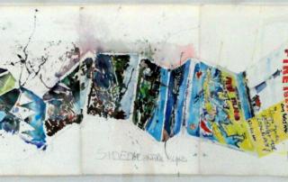 MORLEY, Malcolm, Fire Island, 1991, aquarelle sur papier