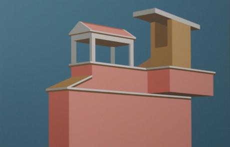 Juriaan Molenaar, Assisi, 120x150, 2012, acrylique - toile